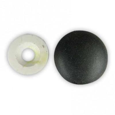 Заглушка на шляпку самореза, цвет черный