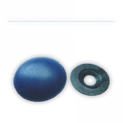 Заглушка на шляпку самореза, цвет синий