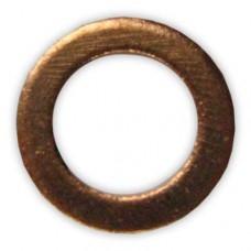 Стопорное кольцо медное 17x24,5x1,5мм - 0835