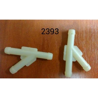 Пластмассовый соединитель трубок - 2393