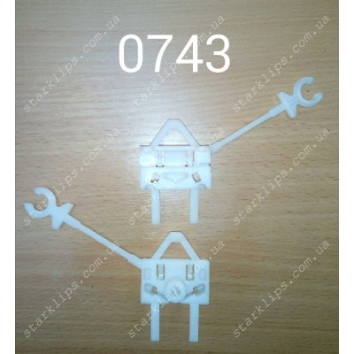 Скрепка стеклоподъемника Фиат - 0743