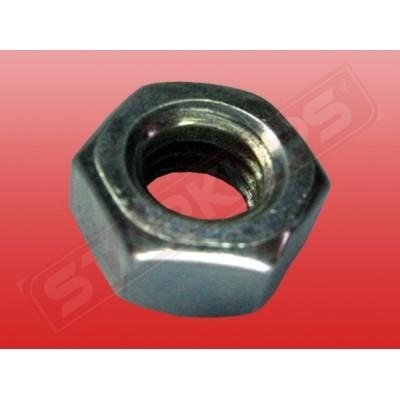Гайка шестигранная металлическая M16 - 2755